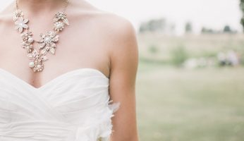 How to Remove Makeup Stains from a Wedding Dress